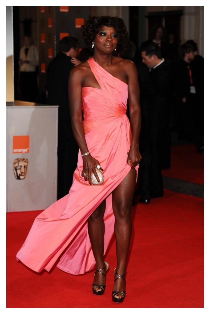 Viola Davis at the 2012 BAFTAs.