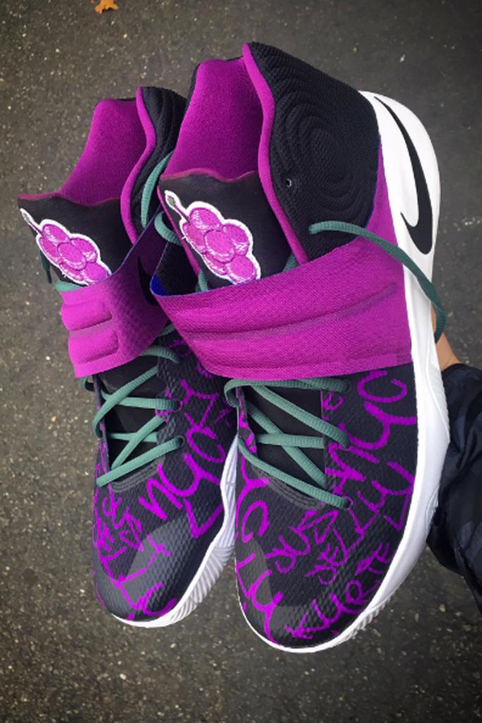 Custom Nike Kyrie 2 Mache NBA Kyrie Irving