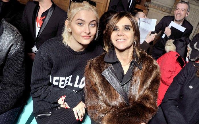 Paris Jackson Carine Roitfeld Givenchy