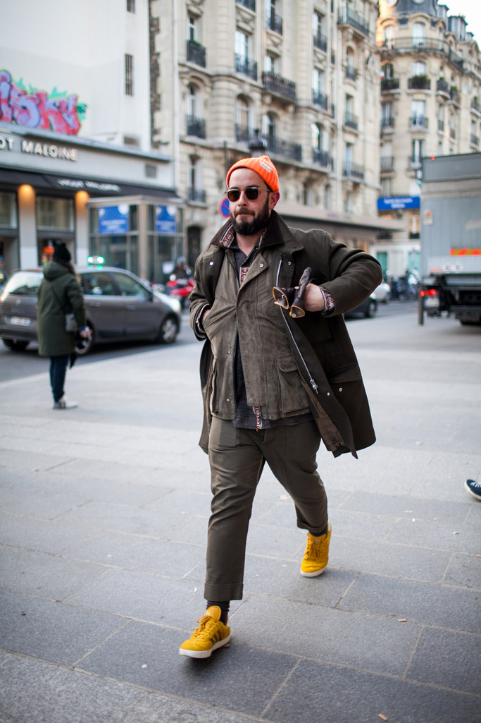 Paris Men's Fashion Week Street Style
