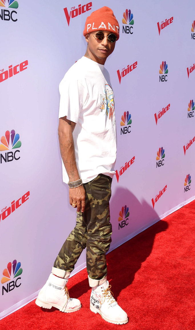 Pharrell Williams Red Carpet Style