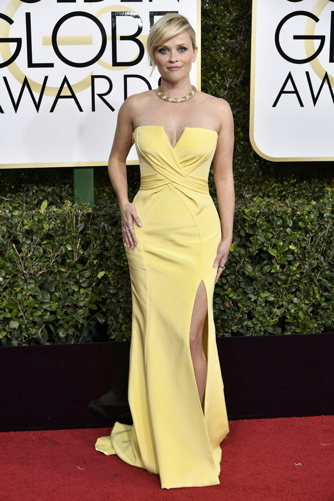 Reese Witherspoon 2017 Golden Globes