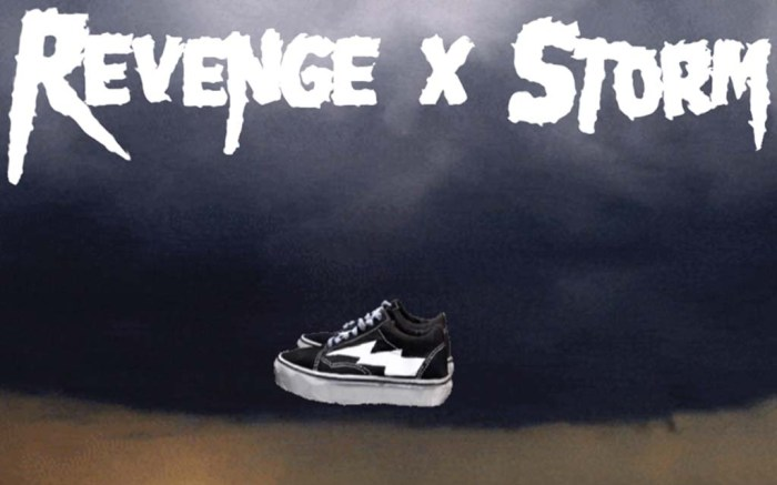 revenge x storm sneakers website