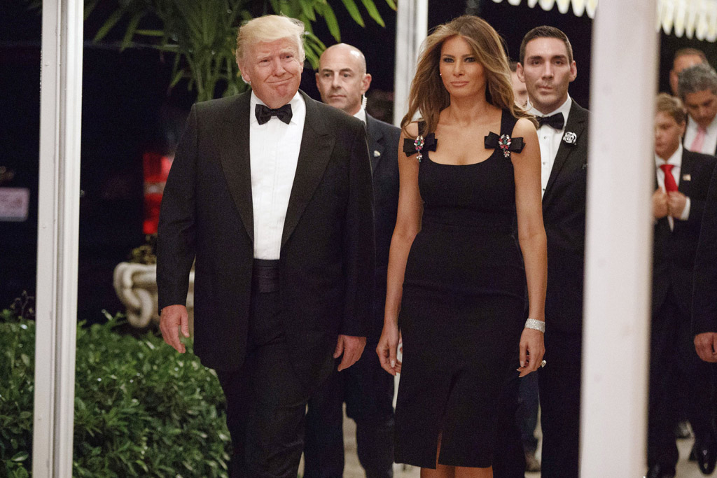 donald trump melania mar-a-lago