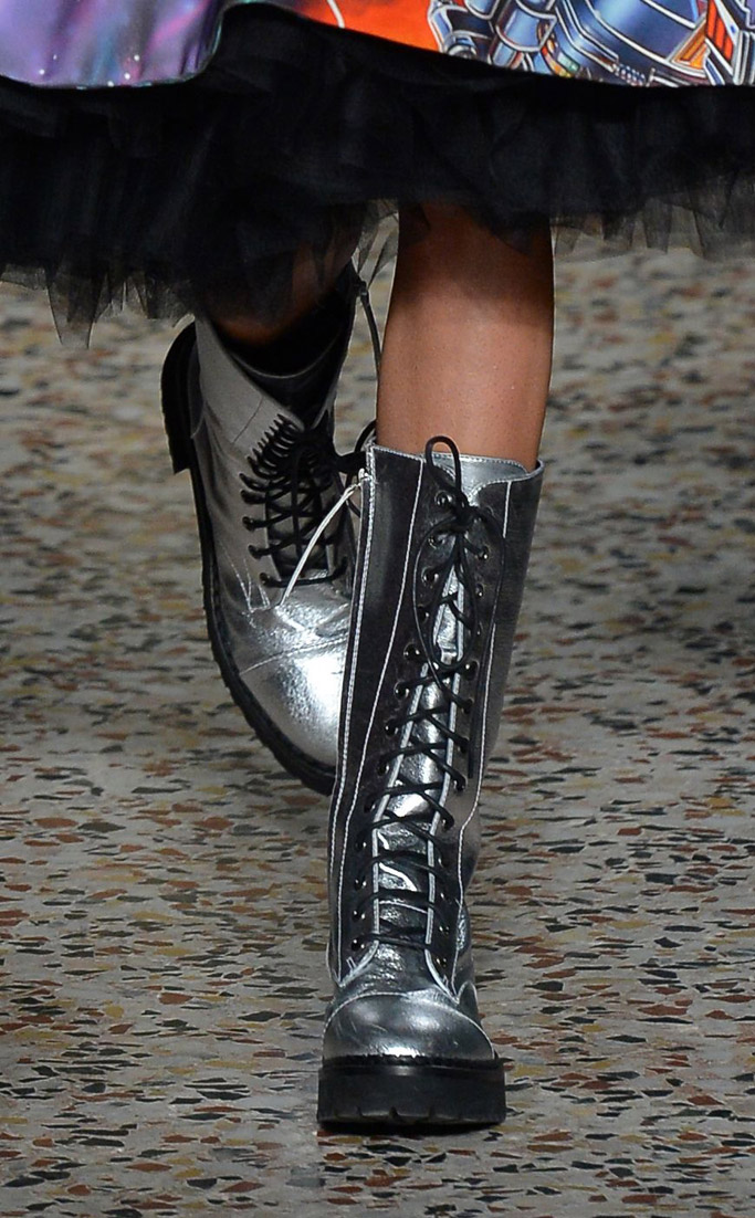 Moschino Fall 2017 Collection Shoes