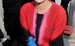 Celebrities at Paris Men's Fashion Week