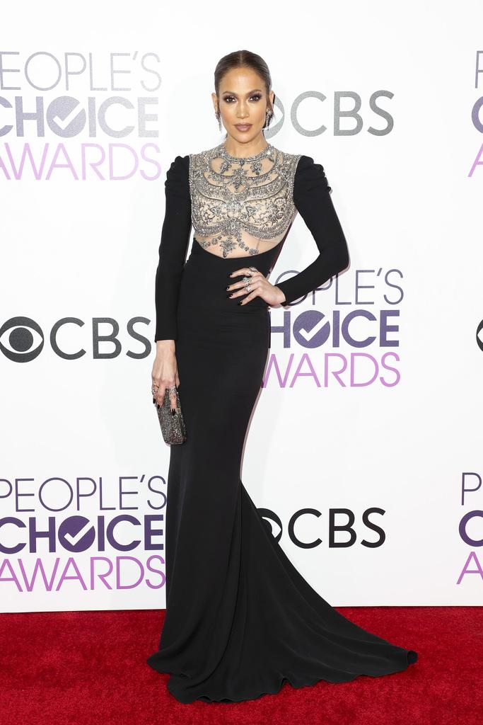 People's Choice Awards Red Carpet jennifer lopez