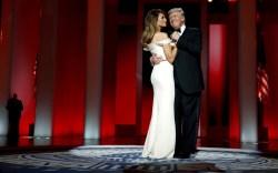 Melania Trump Inaugural Ball Style