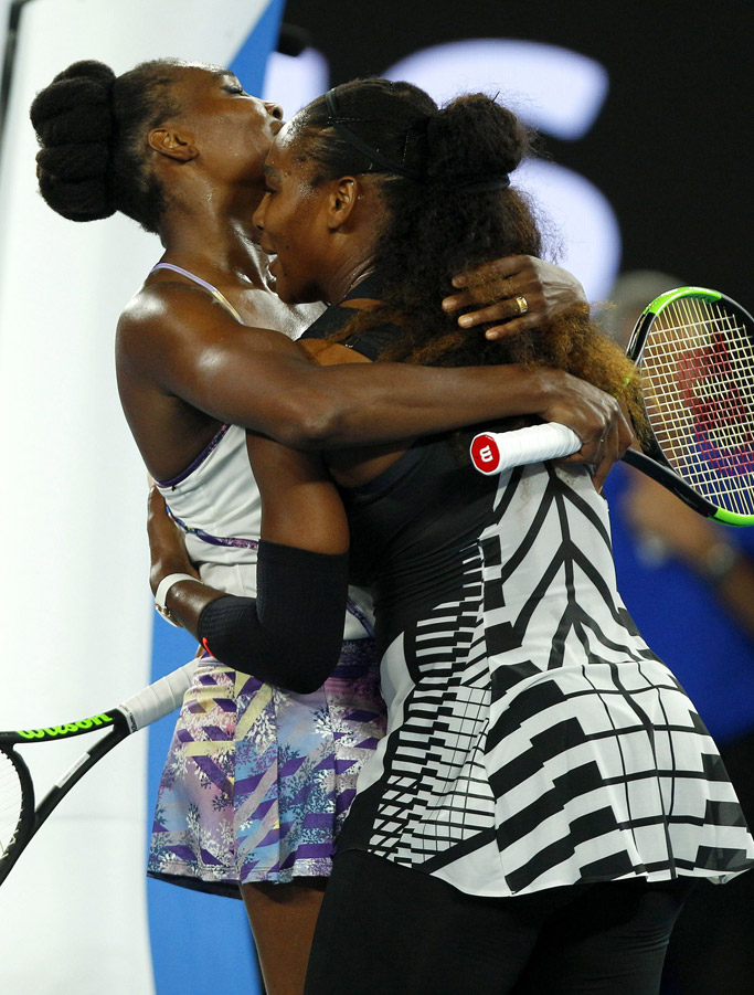 australian open serena williams venus