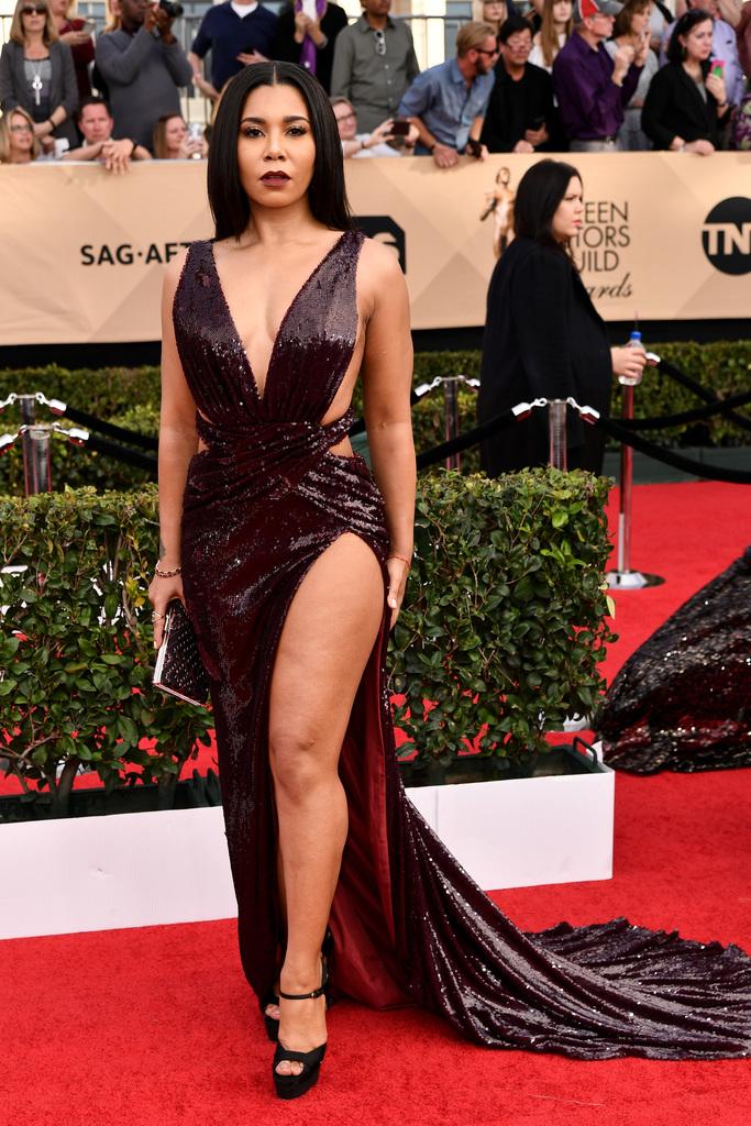 SAG Awards Red Carpet Jessica Pimentel