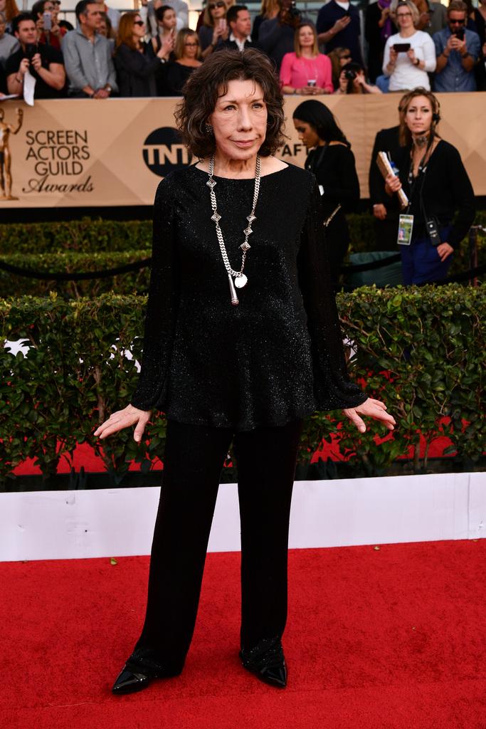 SAG Awards Red Carpet Lily Tomlin