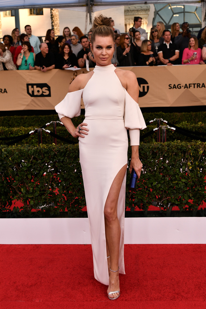 SAG Awards Red Carpet Rebecca Romijn
