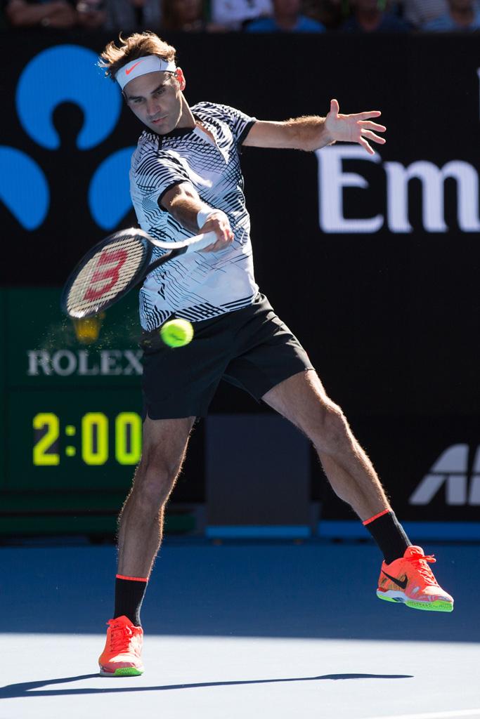 Roger Federer Australian Open Shoes