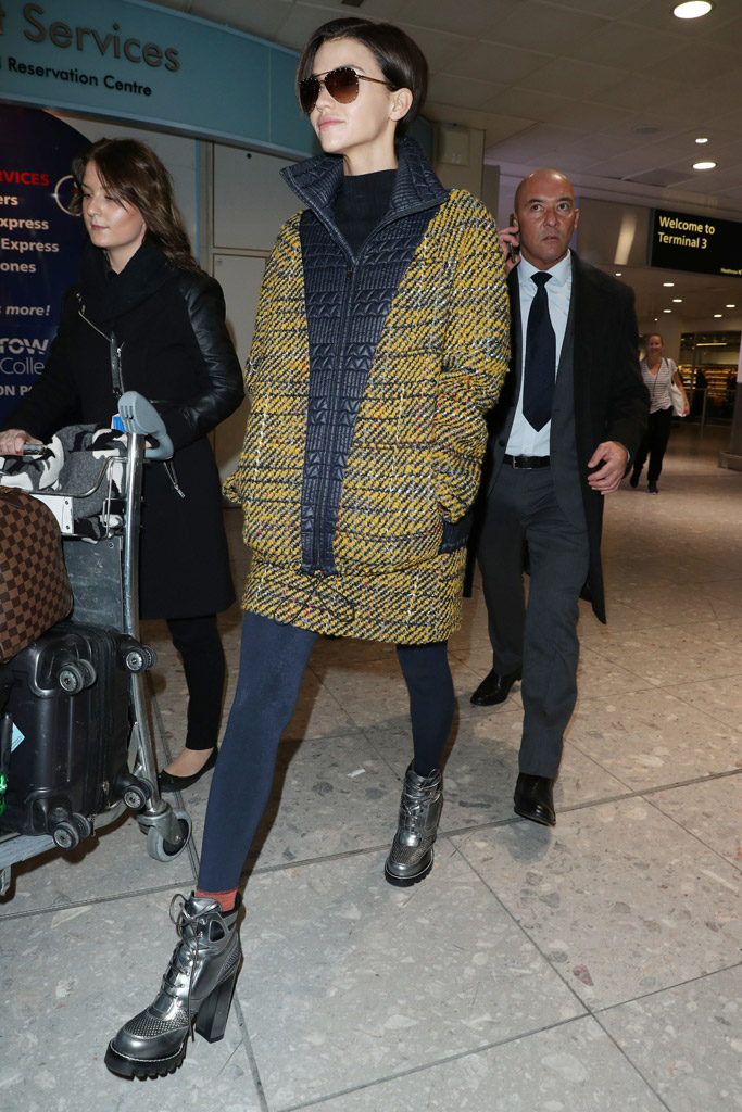 Ruby Rose Airport Style