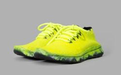 Maison Margiela Men's Fluorescent Yellow Sneakers