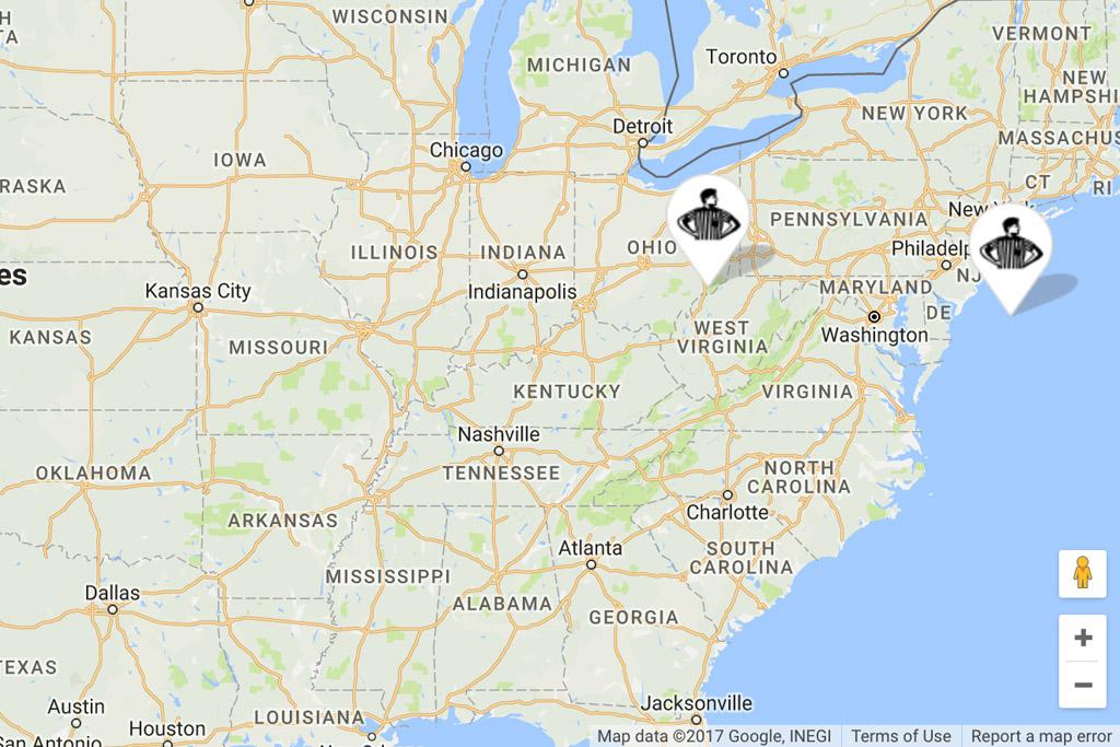 Foot Locker Launch Locator