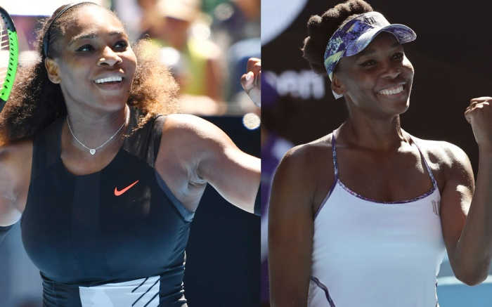 Serena Venus Williams Australian Open
