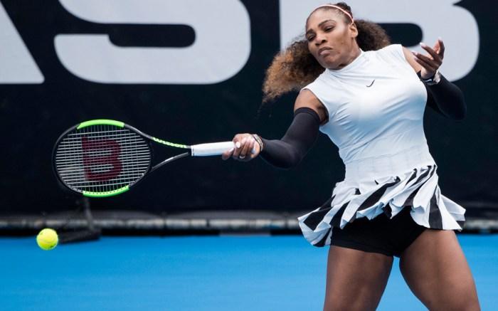 Serena Williams New Zealand ASB Tennis Classic