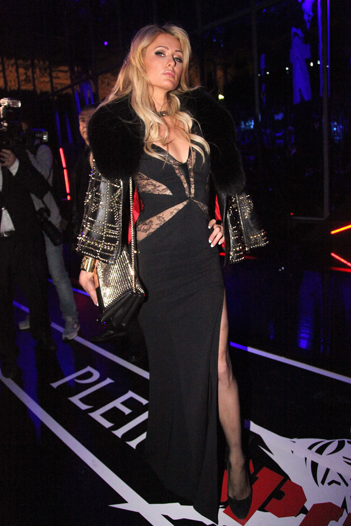 Philpp Plein paris hilton milan fashion week