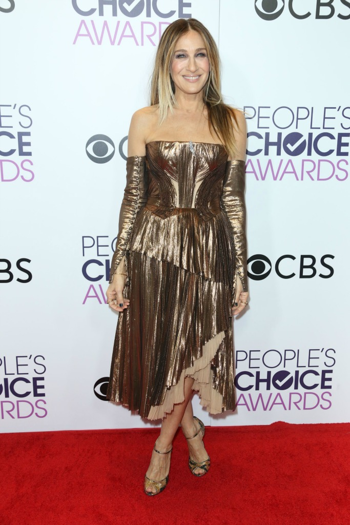 People's Choice Awards Red Carpet sarah jessica parker