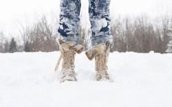 snow boots snow winter
