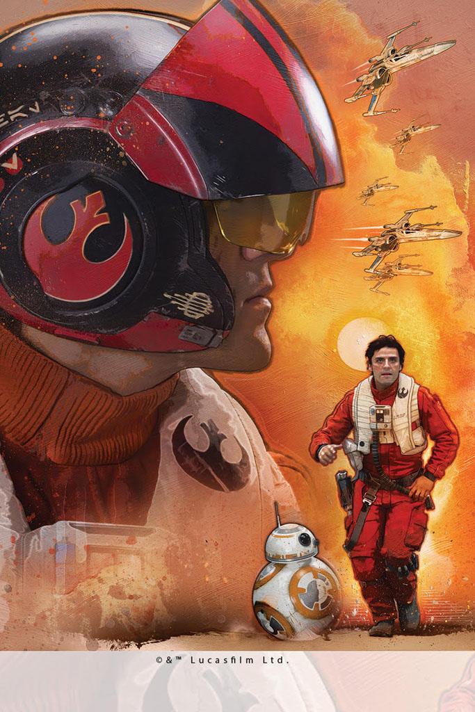 Poe Dameron/Lucasfilm/Disney