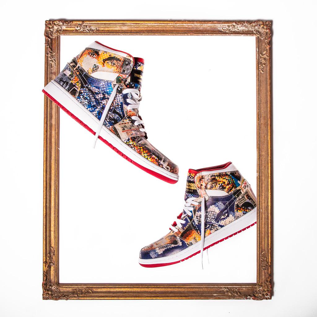 Gillean Clark Air Jordan 1 The Shoe Surgeon