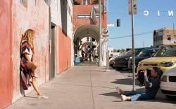 Natalie Joos shoots Erin Wasson.