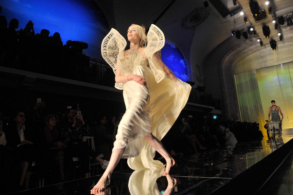 Coco Rocha Haute Couture Fashion Week Runway
