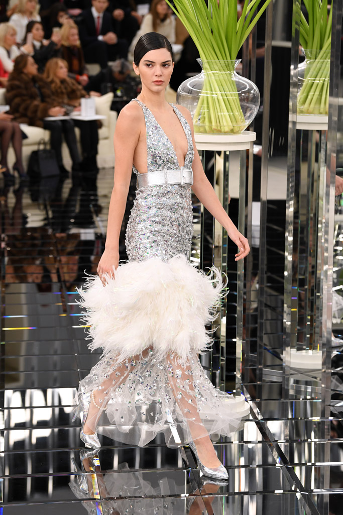 Kendall Jenner Haute Couture Fashion Week Runway