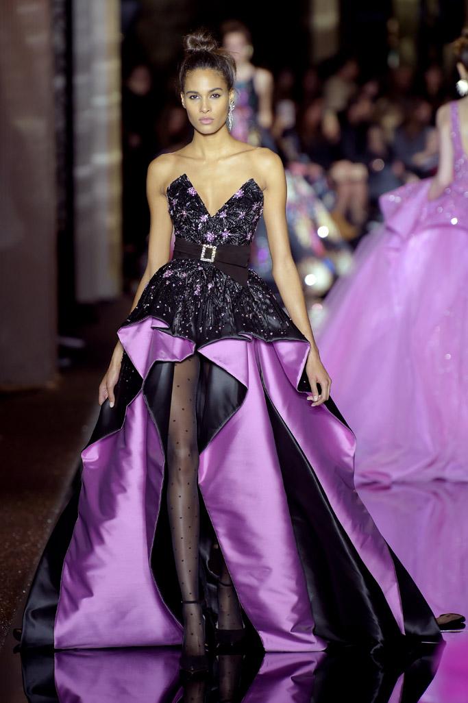 Cindy Bruna Haute Couture Fashion Week Runway