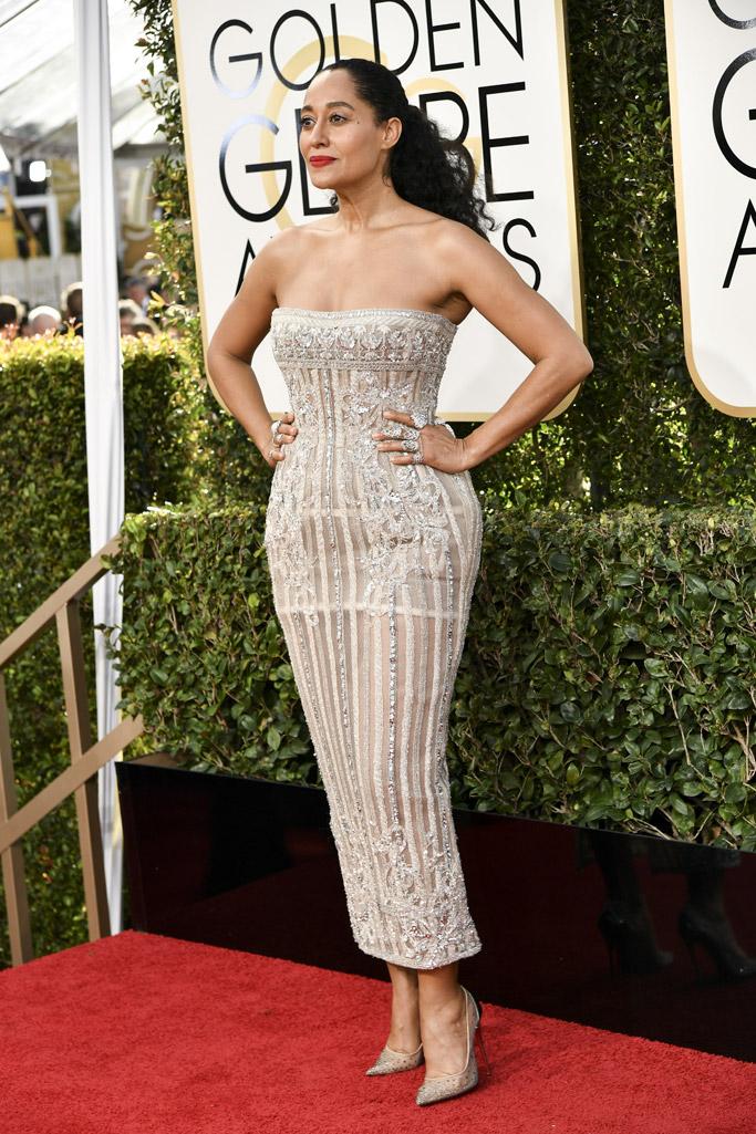 Tracee Ellis Ross 2017 Golden Globes