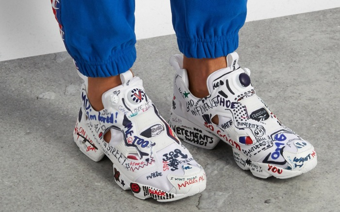 Vetements Reebok Sneakers