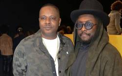 Brother Carl Gilliam and Will.i.am.