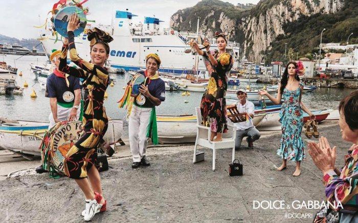 Zendaya Dolce & Gabbana Ad Campaign