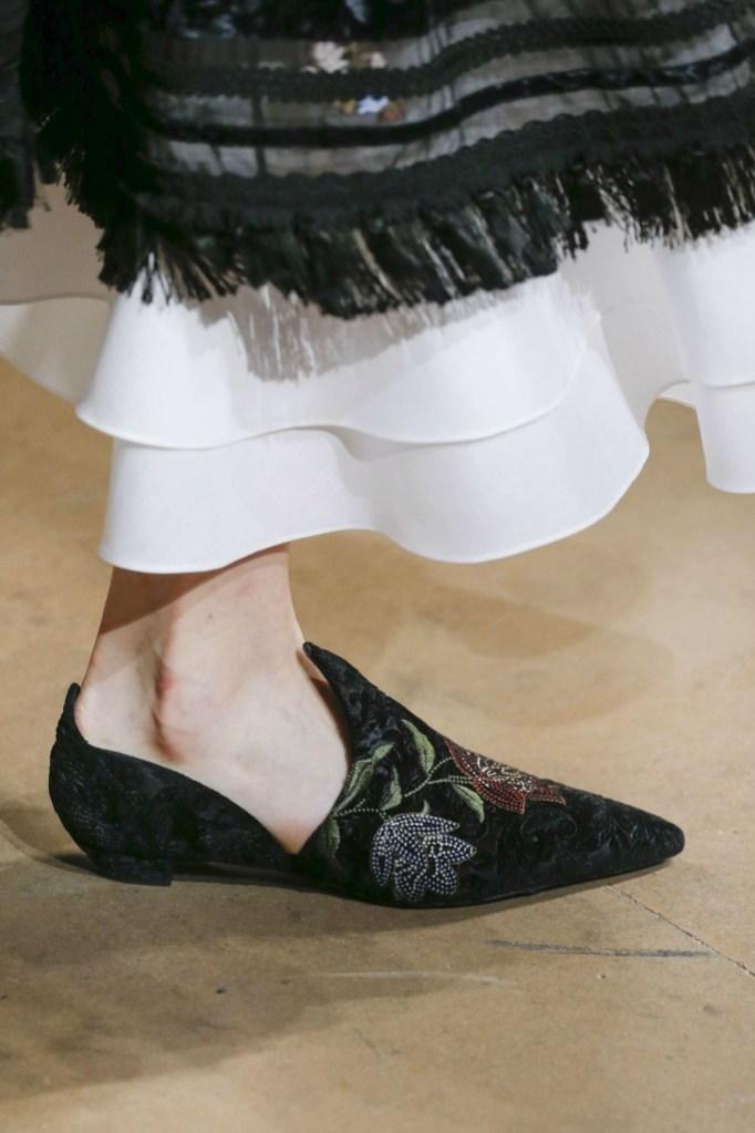 erdem top trends london fashion week