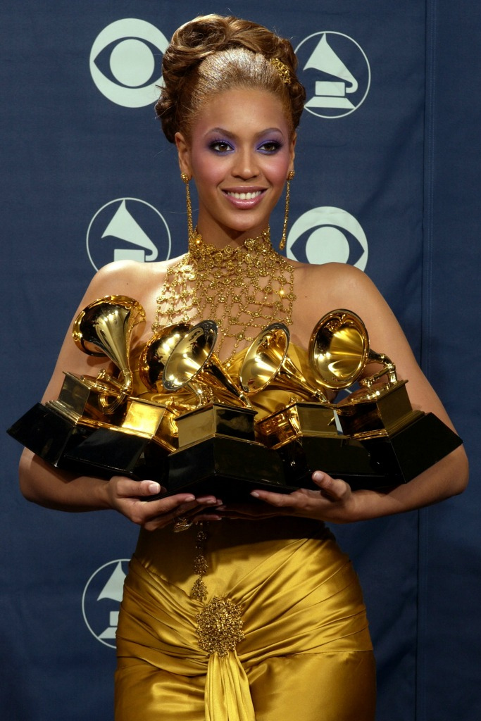 Beyonce at the 2004 Grammys.