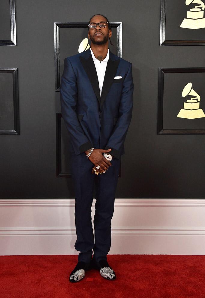 2 Chainz 2017 Grammys Red Carpet