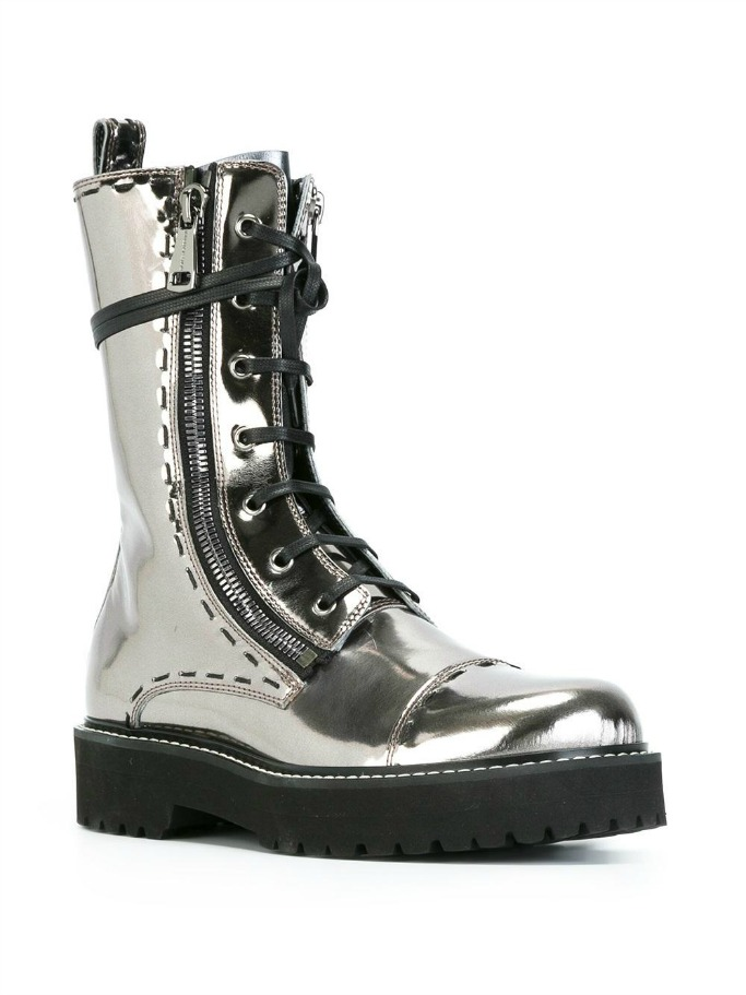 Dolce and Gabbana Combat Boots