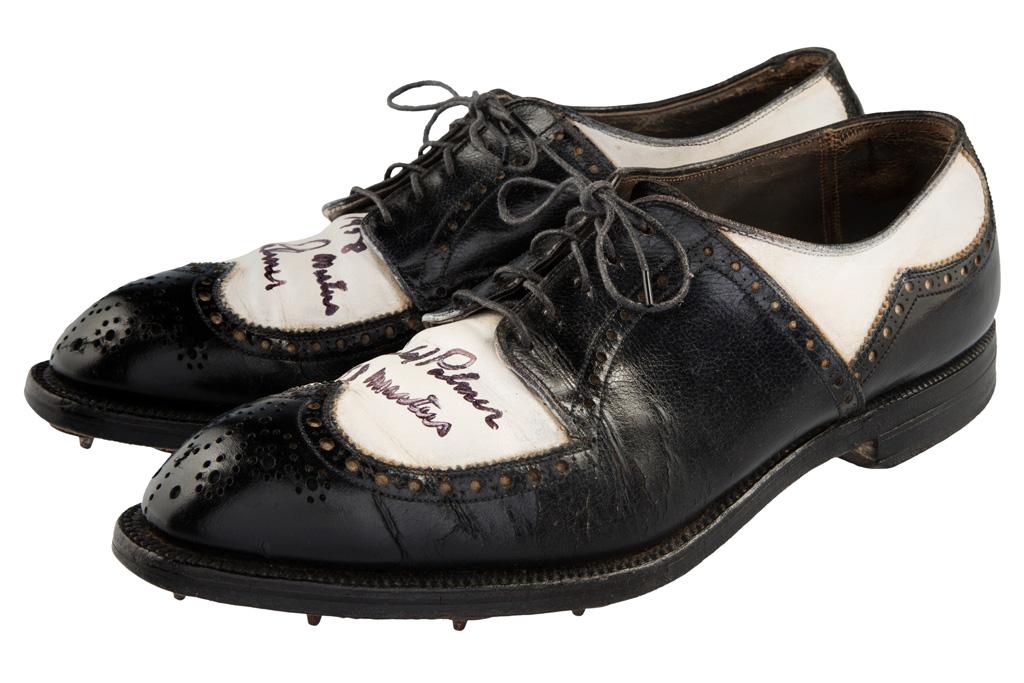 Arnold Palmer's 1958 Footjoy Wingtips