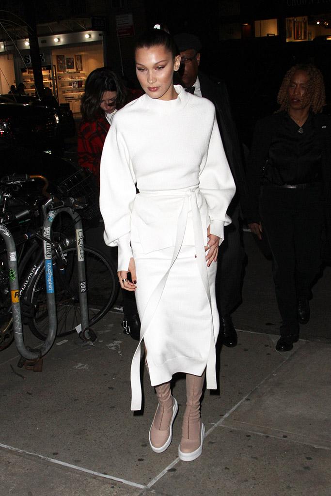 Bella Hadid DKNY