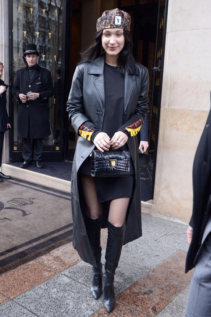 Bella Hadid Model Off-Duty Style