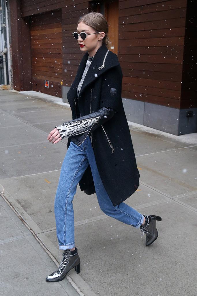 Bella Gigi Hadid New York Style