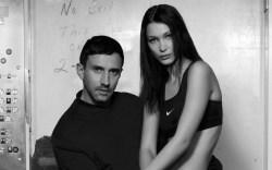 Bella Hadid Riccardo Tisci Nike