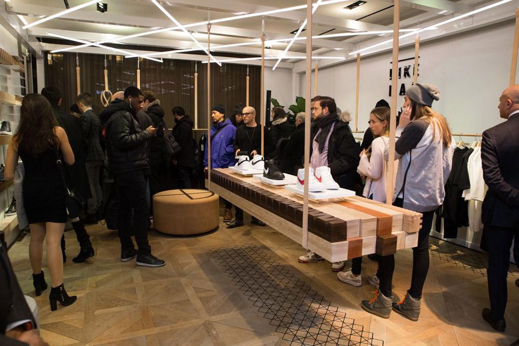 Bergdorf Goodman Nikelab pop-up