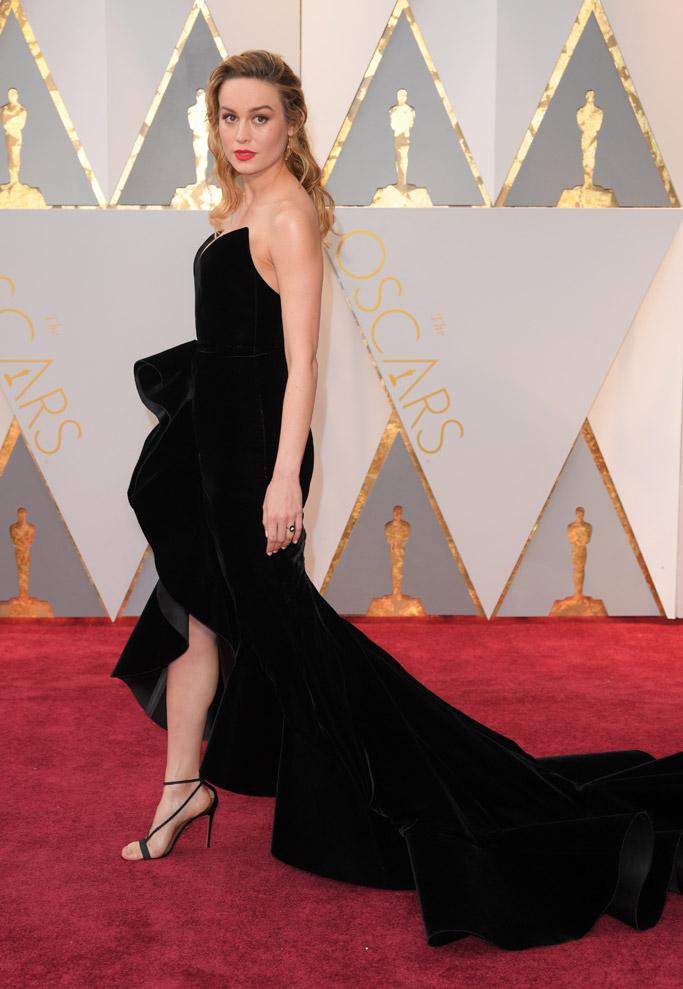 Brie Larson Oscars 2017 Red Carpet