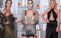 2017 brit awards red carpet katy