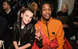 Millie Bobby Brown and A$AP Rocky