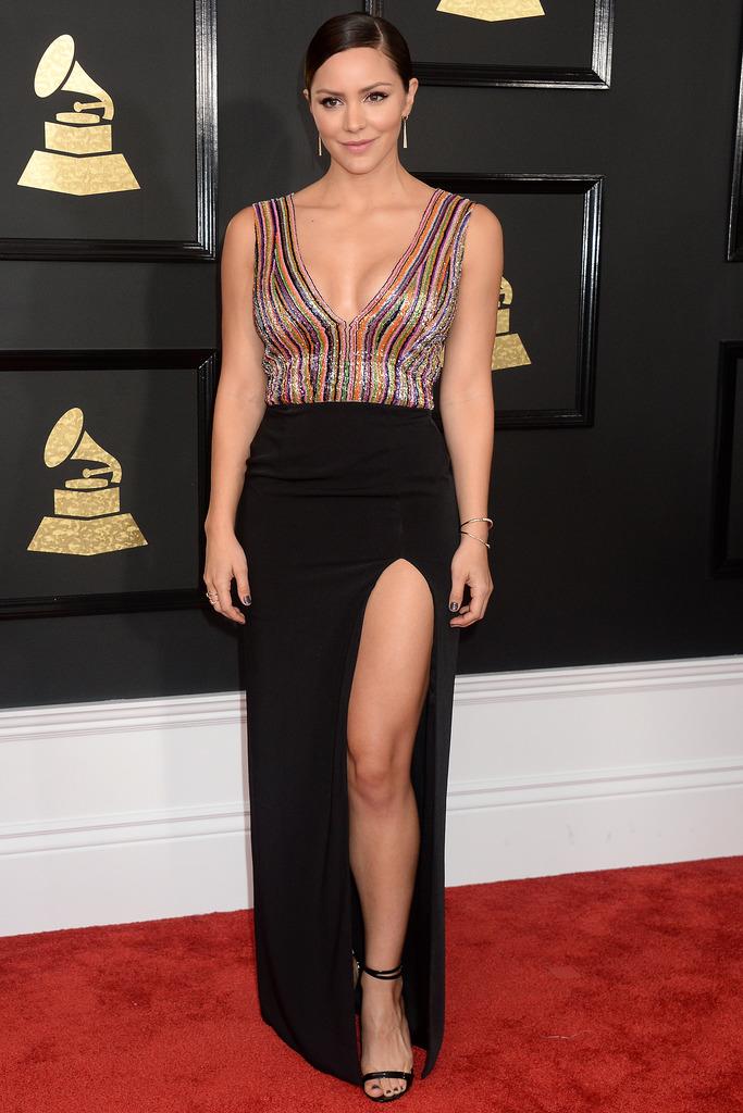 Grammys Katherine McPhee Skin-Baring Styles