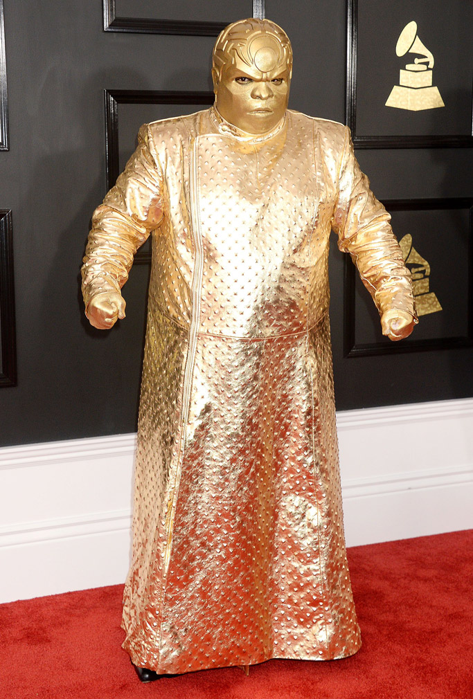 Cee Lo Green 2017 Grammys Red Carpet